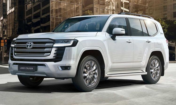 Toyota Prado 2022 phai lui lich ra mat vi Land Cruiser