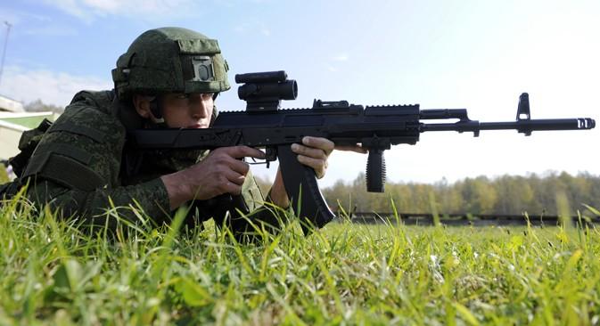 Sung truong tan cong AK-12 thu nghiem xong, chua ro ket qua