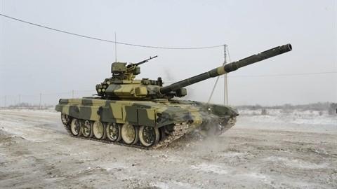 Xe tang T-90S/SK Viet Nam ha duoc ca truc thang nho vu khi nay-Hinh-2