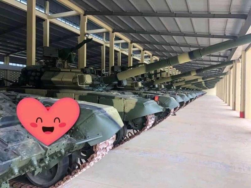 Xe tang T-90S/SK Viet Nam ha duoc ca truc thang nho vu khi nay