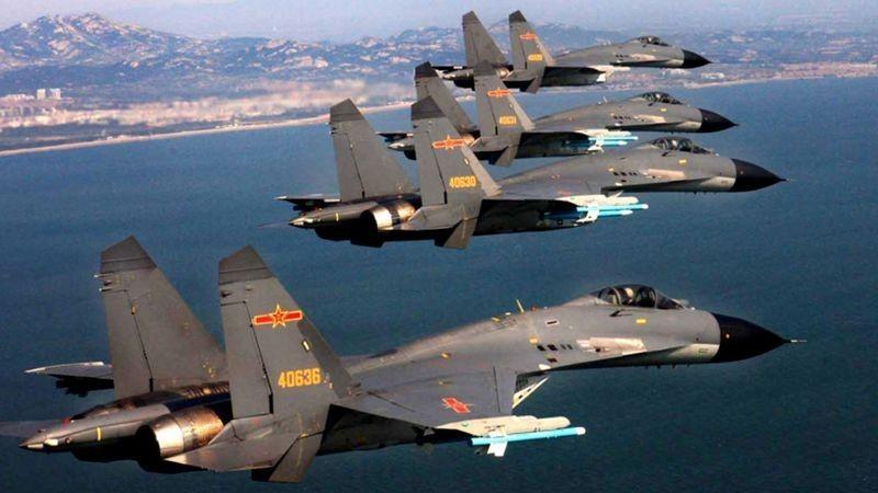Khong dong nhu J-7, nhung J-16 moi la chu luc cua Khong quan TQ-Hinh-14