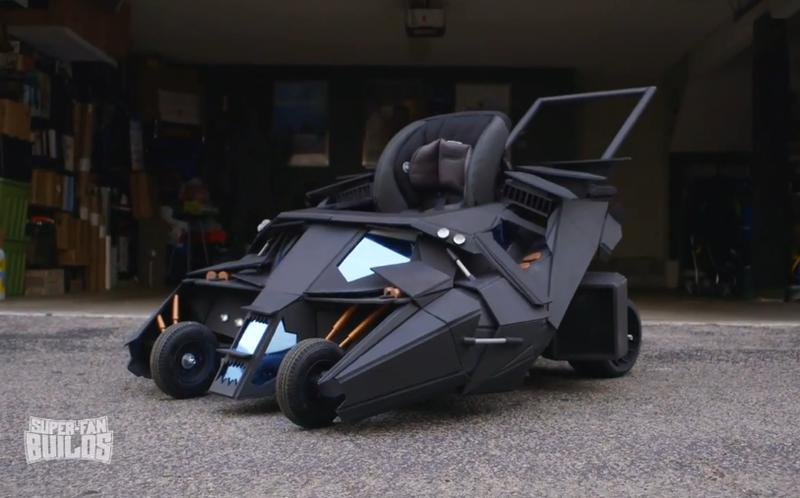 Sieu xe Batman phien ban nhi doc nhat the gioi