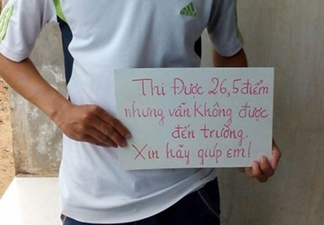Bo truong GD&DT yeu cau nhan thi sinh 26,5 diem vao dai hoc
