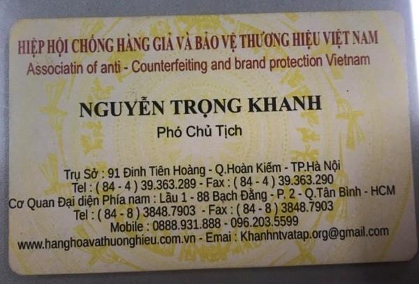 Lanh dao Hiep hoi Chong hang gia Viet Nam dung bang gia?-Hinh-3