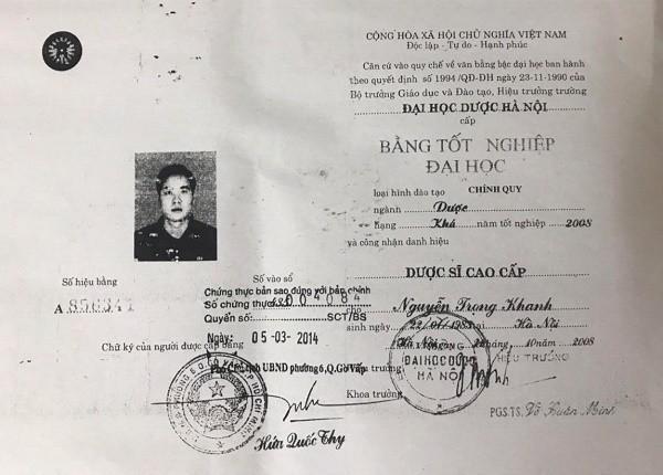 Lanh dao Hiep hoi Chong hang gia Viet Nam dung bang gia?