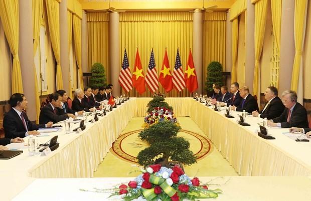 Tong thong Donald Trump moi Tong Bi thu, Chu tich nuoc Nguyen Phu Trong tham Hoa Ky-Hinh-2