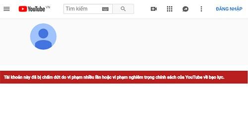 """Sau Kha Banh, Youtube cua """"thanh chui"""" Duong Minh Tuyen da bi khoa-Hinh-2"""