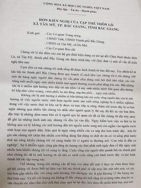Nha dau tu Trung Quoc chuan bi xay nha may xu ly rac tai TP Bac Giang