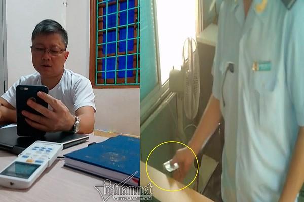 Lanh dao Hai quan o Quang Tri: Anh em thu them tien do kho qua