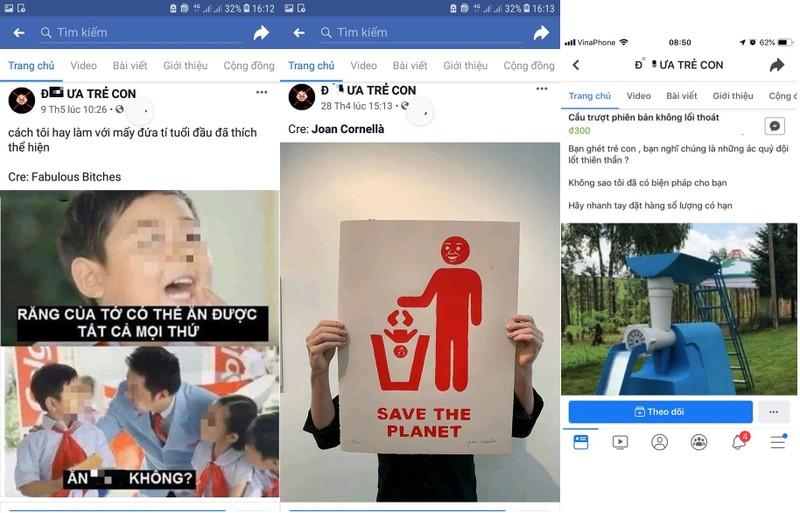 Trang facebook keu goi bai tru, bao hanh tre em khien du luan phan no-Hinh-3