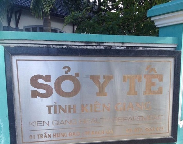 Ket luan thanh tra chi loat sai pham tai So Y te Kien Giang: Giam doc noi gi?