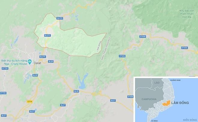 Van dong vien du giai Dalat Ultra Trail 2020 bi nuoc cuon tu vong-Hinh-2