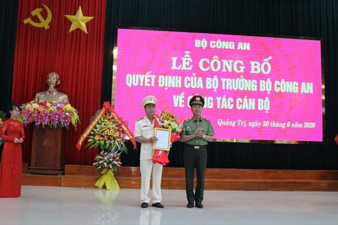 Quang Binh, Quang Tri co tan giam doc Cong an tinh