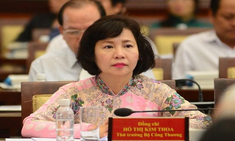 Nguyen Thu Truong Ho Thi Kim Thoa vuong sai pham gi o Cty Dien Quang?