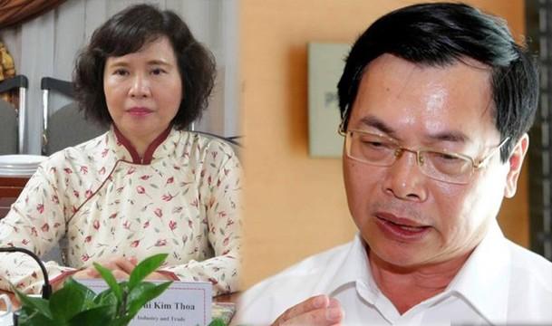 Nguyen Bo truong Vu Huy Hoang khai bi ung thu, day trach nhiem cho cap duoi