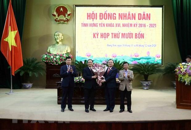 Hung Yen co tan Chu tich Uy ban nhan dan tinh