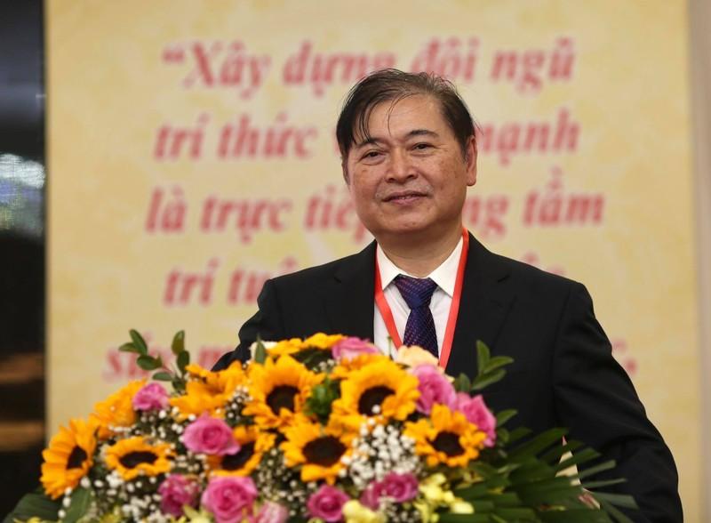 Chan dung lanh dao Lien hiep cac hoi Khoa hoc va Ky thuat Viet Nam nhiem ky 2020 -2025