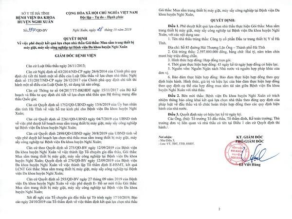Nang khong gia thiet bi y te o Ha Tinh: Khoi to GDBV huyen Nghi Xuan-Hinh-3