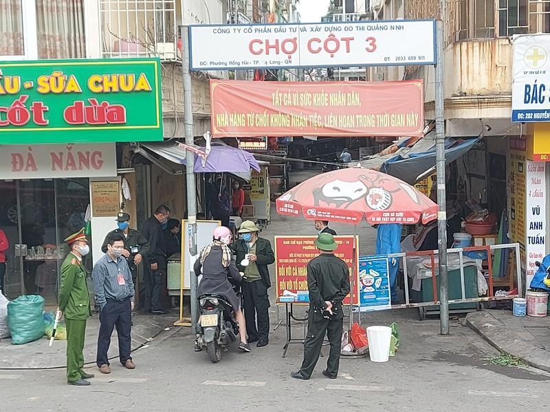 Ha Long dinh chi cho Cot 3 do loi long phong chong dich COVID-19