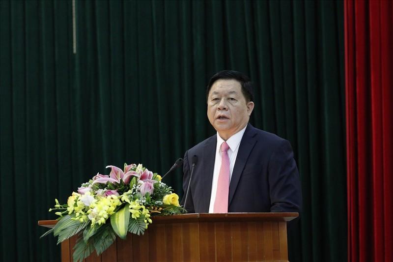 Chan dung tan Truong ban Tuyen giao Trung uong Nguyen Trong Nghia