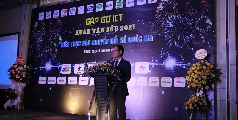 Gap go ICT: Hien thuc hoa Chuyen doi so Quoc gia