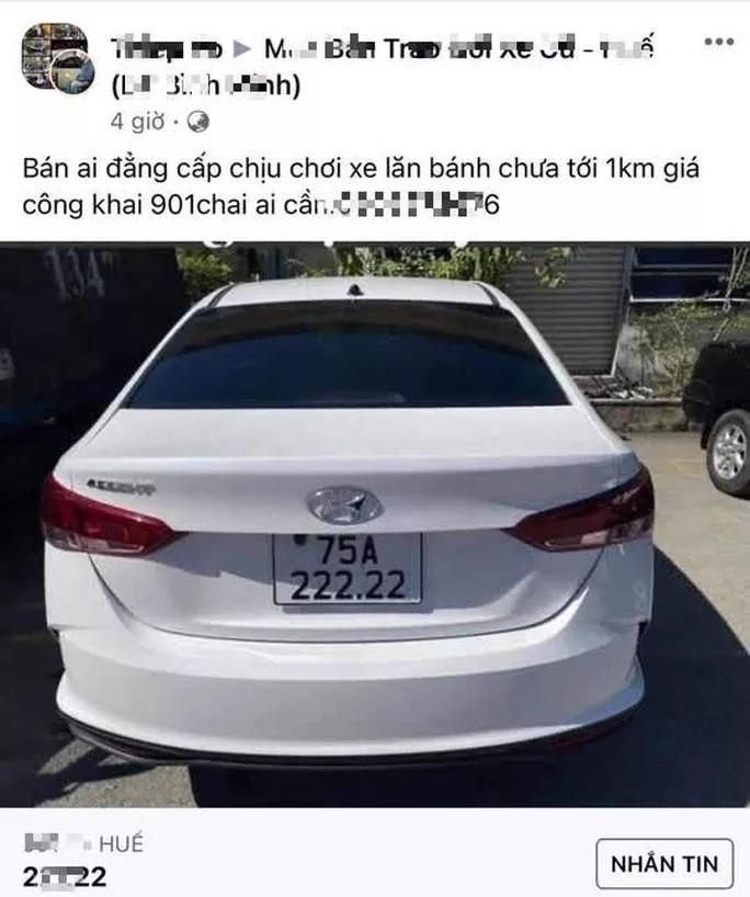 """Chu nhan oto bien so """"sieu dep"""" 75A-222.22: """"Bam """"rua"""" cai duoc lien""""!-Hinh-3"""