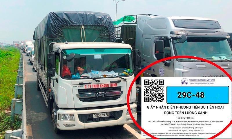 """Mang te liet, Bo GTVT bo quy dinh xe tai co the """"luong xanh"""""""