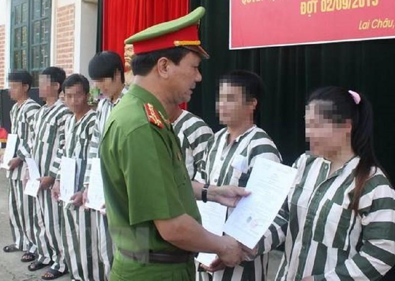 Chinh thuc: 3.026 pham nhan duoc dac xa nam 2021