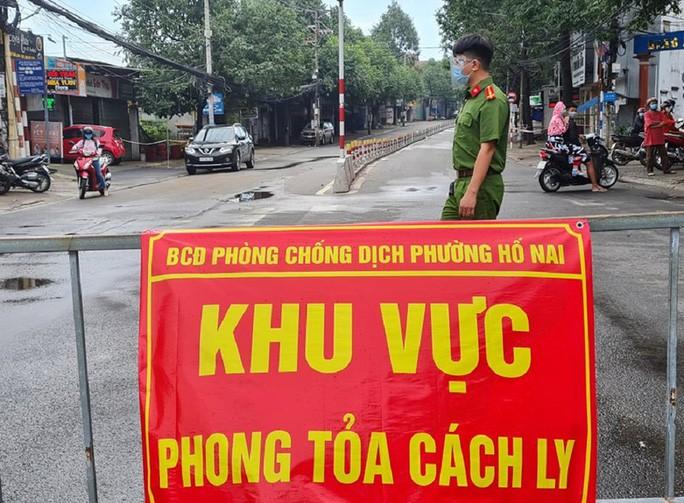 Giam doc So Tu phap Dong Nai mac COVID-19