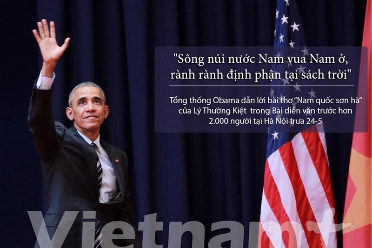 Nhung cau noi hay nhat trong bai dien van cua ong Obama