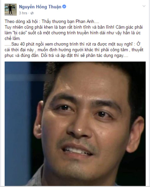 Nghe si Viet len tieng viec VTV dau to MC Phan Anh-Hinh-5
