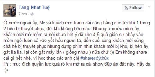 Nghe si Viet len tieng viec VTV dau to MC Phan Anh-Hinh-6