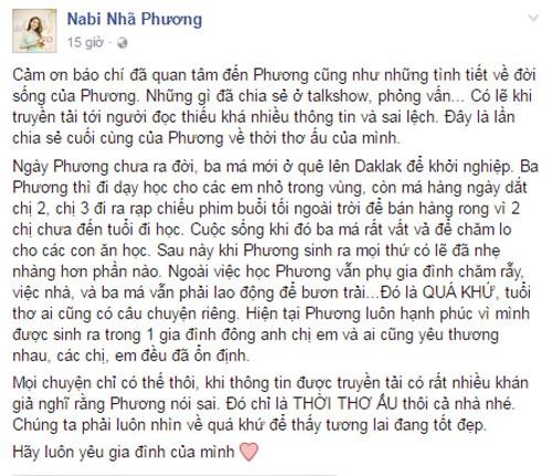 Nha Phuong buc xuc khi bi to gia ngheo kho-Hinh-2