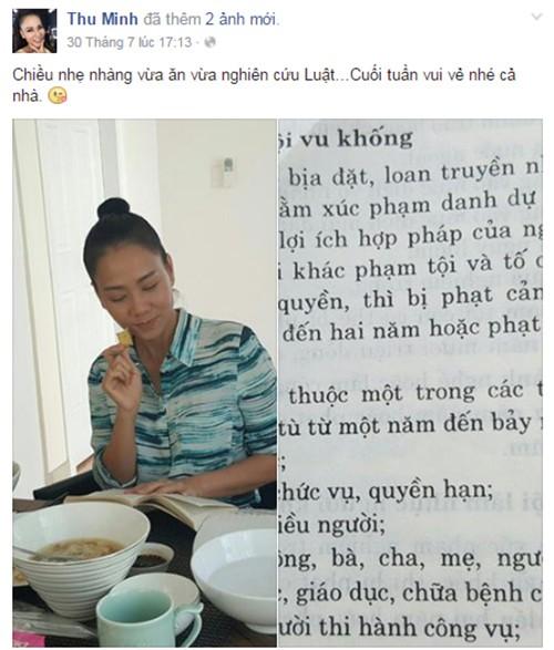 Phan ung cua Thu Minh Jennifer Pham khi chong bi to no nan-Hinh-3