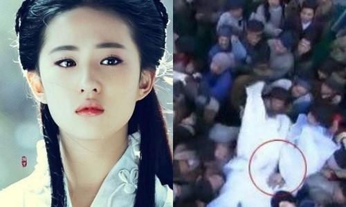 Trieu Le Dinh bi quay roi tren phim truong gay buc xuc-Hinh-3