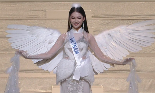 Thuy Dung truot top 15, nguoi dep Indonesia dang quang Miss International-Hinh-2