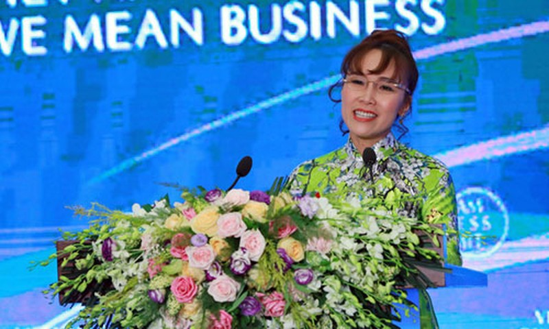 "Ty phu Nguyen Thi Phuong Thao: San bay thoi 4.0 se la nhung ""nguoi may biet cuoi"""