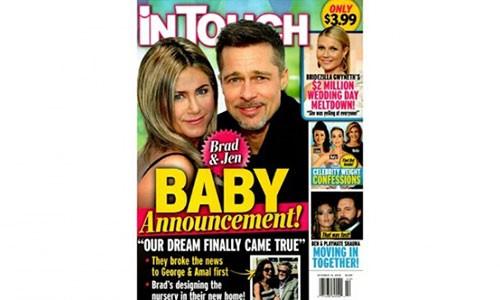 Jennifer Aniston mang thai voi Brad Pitt, Angelina Jolie het co hoi?-Hinh-2
