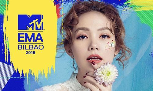 Bi phan doi ngay tren san nha, Minh Hang kho thang o MTV EMA?-Hinh-2