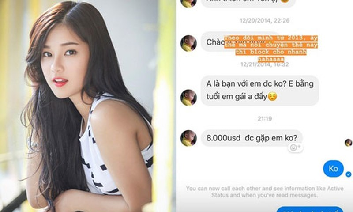 Gia moi tiep khach nghin do: Cam bay bua vay gai xinh showbiz-Hinh-3