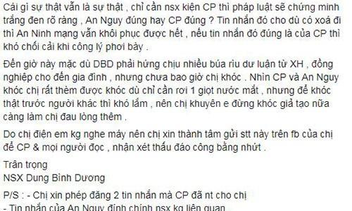 Ba Dung Binh Duong khuyen Cat Phuong dung khoc gia tao-Hinh-2