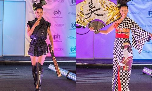 "H'hen Nie sai lam khi mang quoc phuc ""Banh Mi"" den Miss Universe?-Hinh-4"