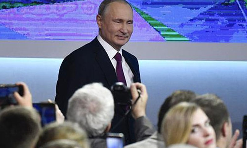 Tong thong V. Putin tuyen bo dap tra hoat dong trien khai ten lua tai chau Au