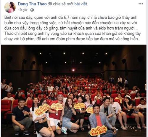 Phim bi tay chay, Lam Vinh Hai - Linh Chi phan ung the nao?-Hinh-2
