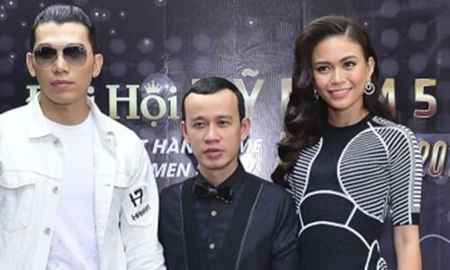 """Phuc Nguyen """"mang xoi xa"""" Mau Thuy giua on ao"""