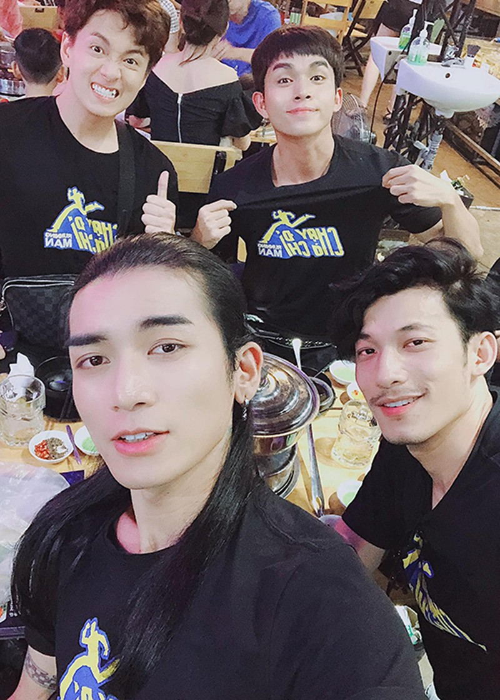 Huyen My, Hoang Bach buc boi truoc loi da tho bao cua Thai Lan-Hinh-3