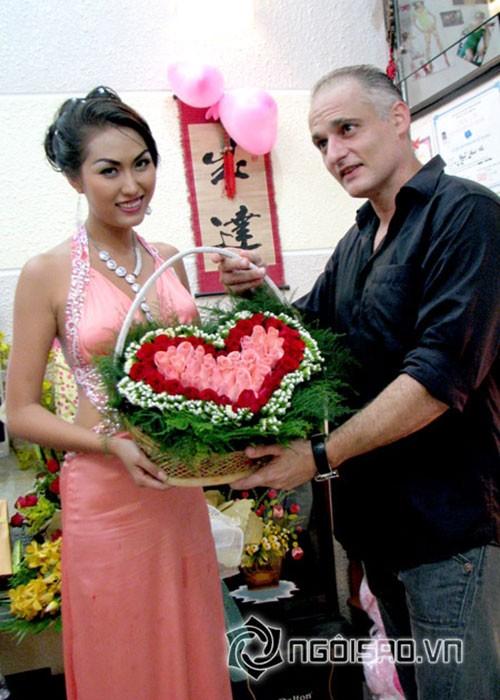 Bat ngo moi quan he giua Phi Thanh Van va chong cu nguoi Phap