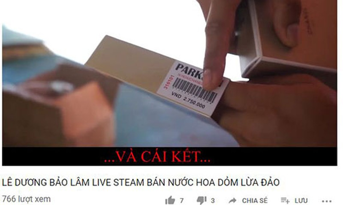Le Duong Bao Lam bi to ban hang dom, nguoi quay clip muon cau view?-Hinh-2