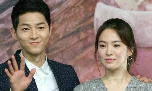 Ro tin Song Hye Kyo mang thai, con khong phai cua Song Joong Ki?