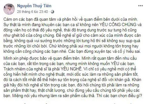 "Tien Cookie khuyen ca si ""khong yeu cong chung"": Suy nghi thien can!-Hinh-3"